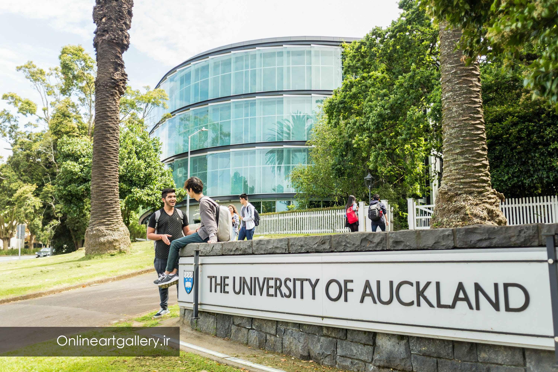 بورسیه هنر در دانشگاه اوکلند در نیوزلند
