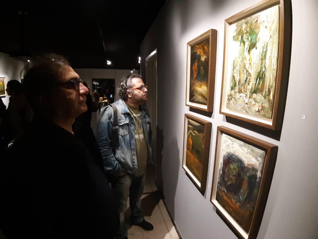 """گزارش تصویری نمایشگاه """"درخت دیوانه"""" در گالری ایده"""
