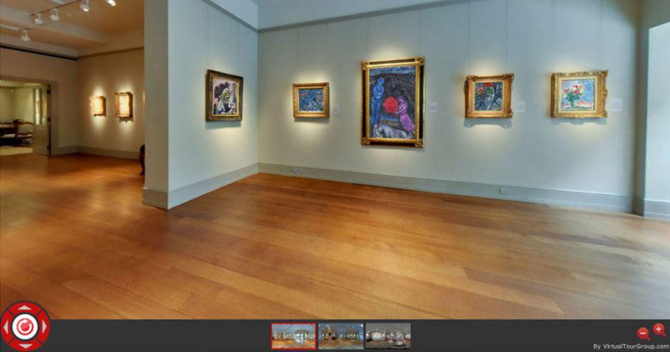 تصویر 360 درجه گالری Hammer در نیویورک